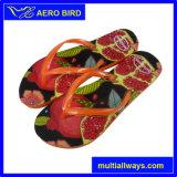 PE Hot Printing Design Slippers for Ladies (GD1503-Orange)