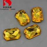 13*18mm Wholesale 2015 China Topaz Crystal Rhinestone with Stone