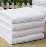 Shanghai DPF Textile Wholesale 100% Cotton Terry White Towel Used for Hotel
