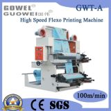Two Color High Speed Plastic Flexo Printing Machine (GWT-A)