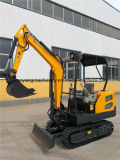 China Earth Machinery Compact Crawler Digger with Dozer Blade