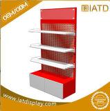 3 Tier Metal Floor Standing Engine Oil Display Stand