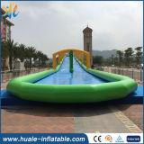 2017 Hot Sales Long Double Lane Inflatable Water Slide/City Slide