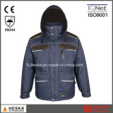 Wholesale Workwear Mens Padded Working Parka Jacket