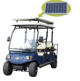 EEC Golf Cart Utility Vehicle with Solar Panel 4+2seat