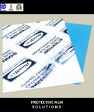 Blue Colorful 0.1mm PE Protective Film Wth Water Based Acrylic