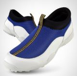 Top Qualtiy Waterproof Mens No Spikes Handmade Golf Shoes (AKGS22)