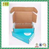 Colored Corrugated Cardboard Box for Shipping