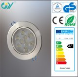 Lowprice High Quality 9W 680lm LED Downlight (Aluminum)