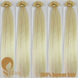 Italy Keratin Indian Remy Human Hair Extension