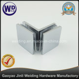 Oversized 90 Degree Glass Clamp 90 Degree Glass to Glass Clip