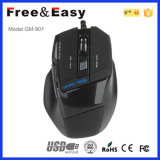 Fire Button DIP Adjustable Drivers USB 7D Laser Gaming Mouse