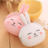 Customized Fashion Rabbit Rubber Wallet Silicone Coin Purse