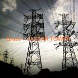 Turn Key Power Transmission Line Steel Tower From Production Factory