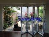 Custom Double Glazing Aluminium Folding Door