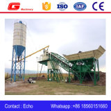 50m3 Mobile Concrete Batching Mixing Plant Price for Exporting