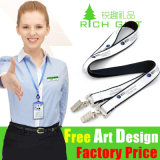 Wholesale Elastic Leather Velcro Tag Printed Double Ended Strap