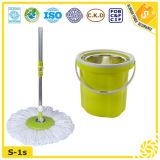 Floor Cleaning Mop Bucket, Hand Press Perfect Mop
