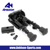 "Tactical Airsoft Fully Adjustable Spring-Eject Legs 6"" M3 Bipod"