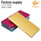 Colorful 10000mAh Ultrathin Portable Power Bank Phone Charger