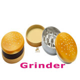 Hot Selling Fashion Hamburger Design Tobacco Grinder