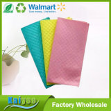 Multicolor Cleaning Products Superfine Fiber Composite Cleaning Cloth
