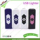 China USB Lighter Plastic USB Rechargeable Electronic Cigarette Lighter