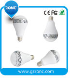 Smart Bluetooth Speaker LED Light Bulb with Remote Control