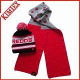 Winter Unisex Customs Acrylic Warm Knitted Set