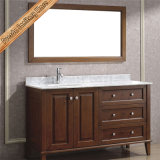Fed-1806 54 Inch Selling Cupc Sink Marble Top Modern Bathroom Furniture