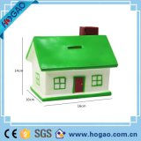 Polyresin Small House Is Green