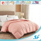 Pink Color Microfiber Quilt/Polyester Duvet/Down Alternative Comforter