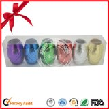Metallic Curling Ribbon Egg with Colorful Printed