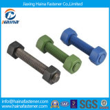 High Strength Full Thread Stud Bolts with Teflon Surface