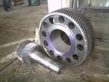 C45 Steel Casting Herringbone Gear with Double Helical Teeth