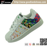 Classic PU Mix Color Casual Skate Shoes 16001m