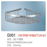 Sanitary Ware Stainless Steel Bathroom Shelf (G001)
