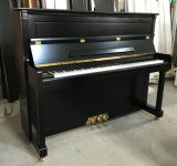 [Chloris] Musical Mini Wooden Black Piano Vertical Hu-121e, Piano De Cola, Vendo Piano with Golden Mtal Parts