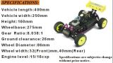 Hsp Stormer 94105 1: 10 Nitro off Road RC Buggy