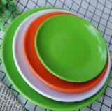Eco Friendly Rice Husk Fiber Dinner Plates Biodegradable Serving Dish
