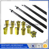 H22 Tapered Drill Rod for Hexagonal Drill Rod