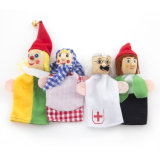 Customized Early Education Kings Plush Toy Finger Puppet