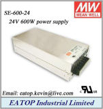 Meanwell Mean Well Se-600-24 24V 600W AC DC Power Supply