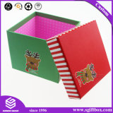 Square Simple Custom Printing Cardboard Packaging Box for Christmas