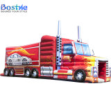 Inflatable Fire Truck Obstacle, Inflatable Obsatcle for Children