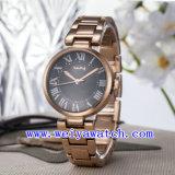 Custom Logo Watch Casual Alloy Wrist Watches (WY-025E)