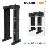 Foldable 6 Zones Portable Door Frame Metal Detector with Password Protection