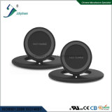 New Fashionable Wireless Charger Black Housing Smart Wireless Charger Ce RoHS FCC