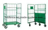Foldable Warehouse Shelf, Storage Cage, Roll Pallet, Logistic Trolley
