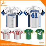 Healong Sublimation Youth Sports Club Uniforms Baseball Jerseys Shirts